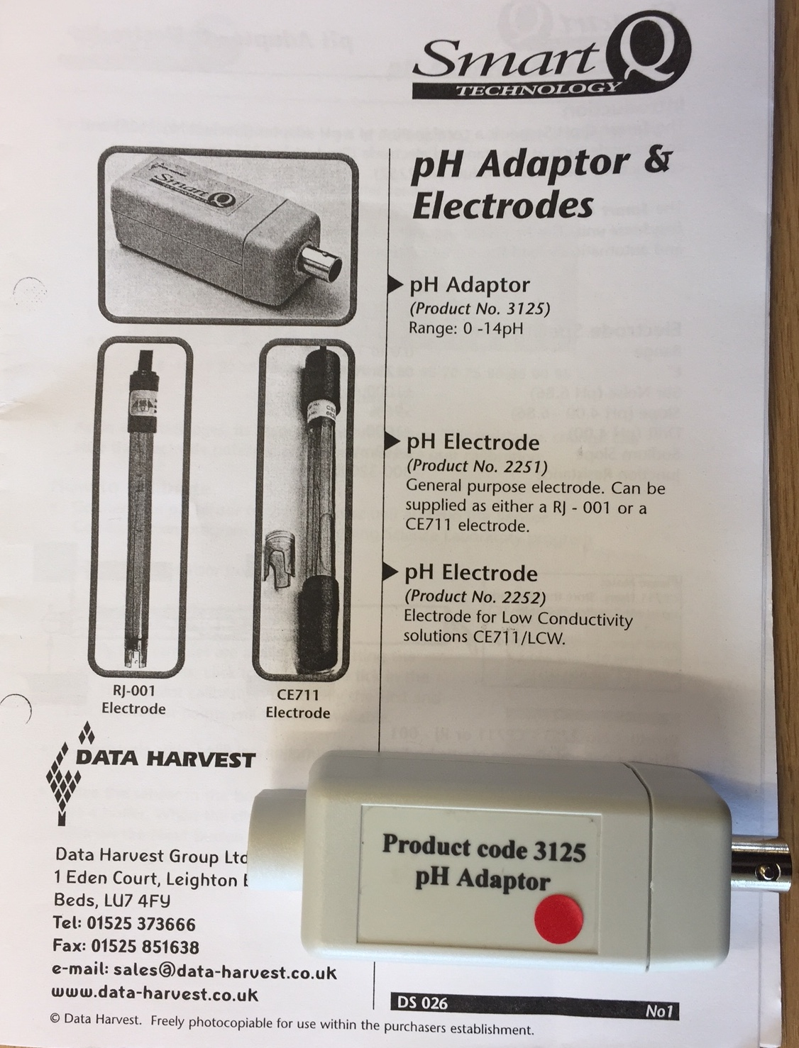 PH adaptor