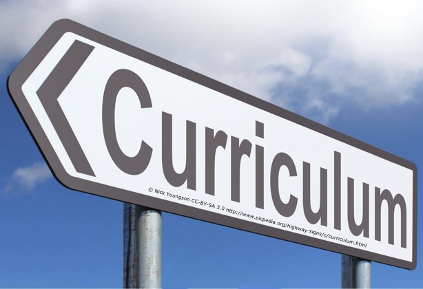 Some thoughts on curriculum