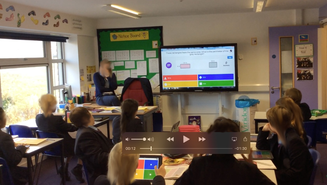 NP3 Using a quiz program in maths
