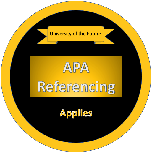 APA Referencing - Applies Badge