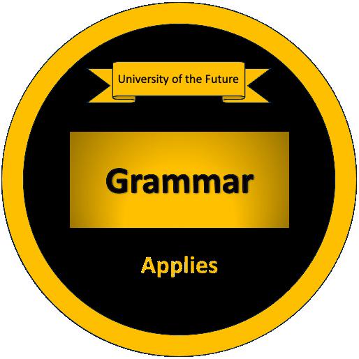 Grammar - Applies Badge