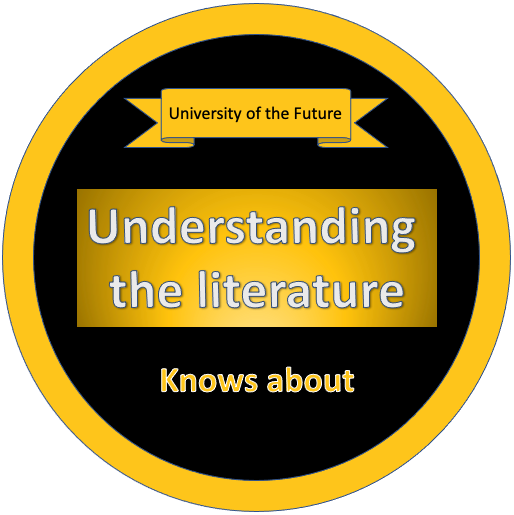 Understanding the Literature - Knows about Badge