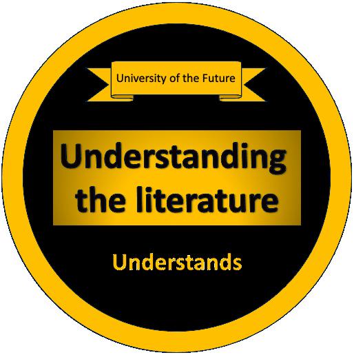 Understanding the Literature - Understands Badge
